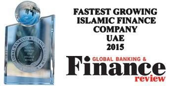 Global Banking & Finance Review - Fastest Growing Islamic Finance Company UAE 2015